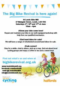 Big Bike Revival poster