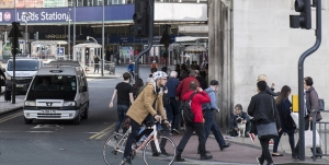 Photo of cycling in Leeds