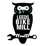 bike mill owl with tear