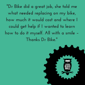 Dr Bike feedback