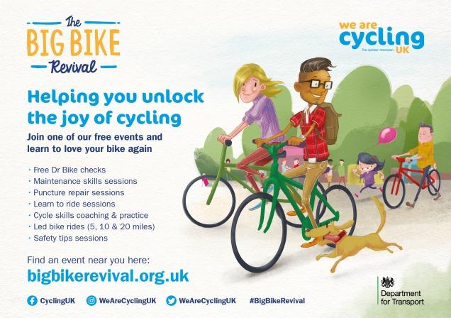 Big Bike Revival leaflet