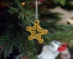 Bike chain star