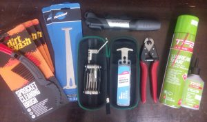Bike maintenance kit