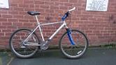 """£180 Marin Hawk Hill, 19"""" ally frame, 26"""" wheels, 24 speed"""