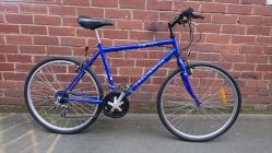 """£75 Silver Fox, 18.5"""" steel frame, 26"""" wheels, 15 speed"""