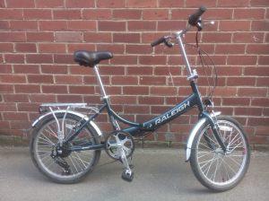Raleigh Evo folding bike