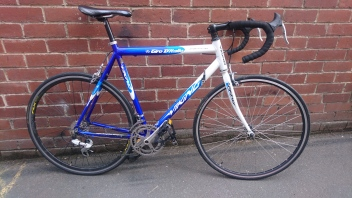 "£175 Viking Giro D'italia road bike, 23"" ally frame, 700C wheels, 14 speed"