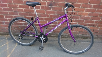 "£80 Apollo Tesqua, 17"" Steel frame, 26"" wheels, 18 speed"