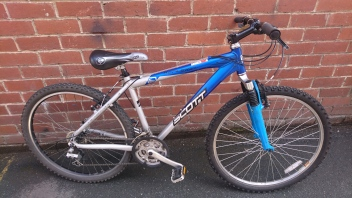 "RESERVED - £155 Scott Reflex 50, 18"" Aluminium frame, 26"" wheels, 24 speed"