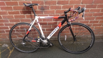 "£225 Dawes Giro 500 Competition, 21.5"" Aluminium frame, 700C wheels, 18 speed (2x9)"