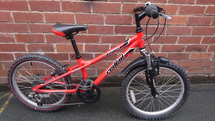 "£100 Dawes Redtail, Aluminium frame, 20"" wheels, 6 speed"