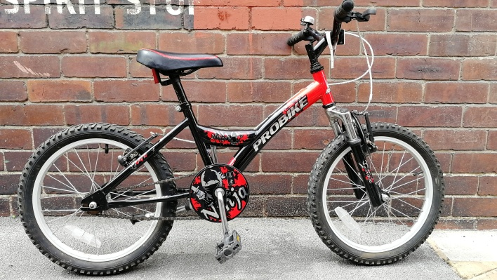 "£40 Probike Ninja, 18"" wheels, single speed"