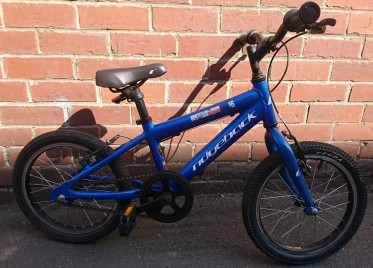 "£50 Ridgeback Terrain MX16, aluminium frame, 16""wheels, single speed"