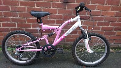 "£45 Vertigo Vesuvius, 20"" wheels, 6 speed - large frame for the wheel size"