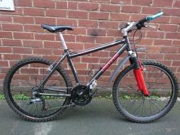 "£150 Univega AL700, 18"" aluminium frame, 26"" wheels, 21 speed (3x7)"